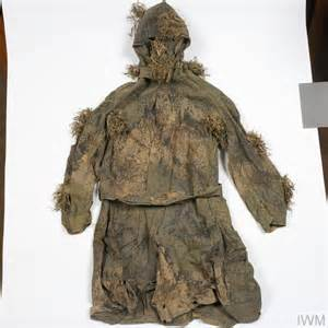 Camouflage Robe: British Sniper's   Imperial War Museums