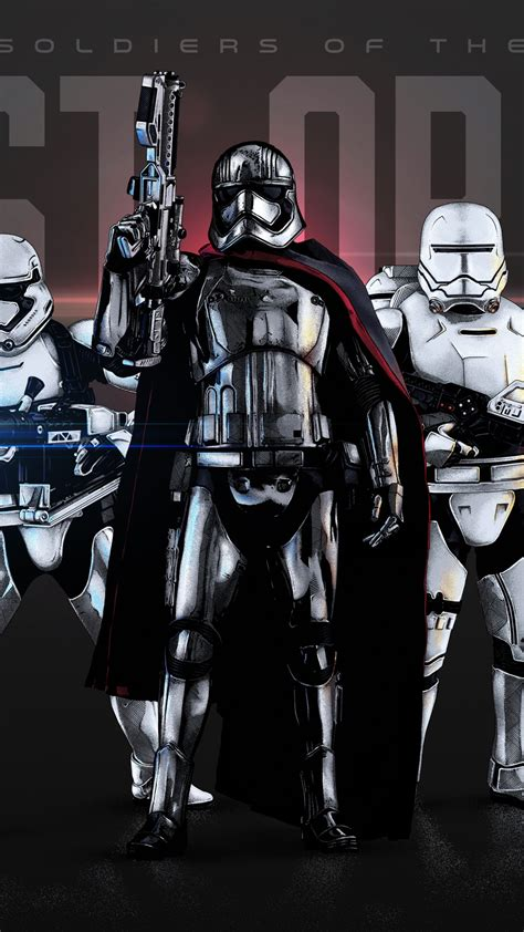 Wallpaper Captain Phasma, Deathtrooper, Soldiers, First