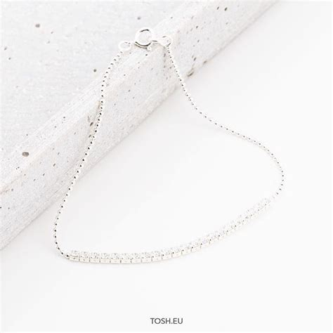 Silver 925 Bracelet with zirconia stones 29,95 € Find a
