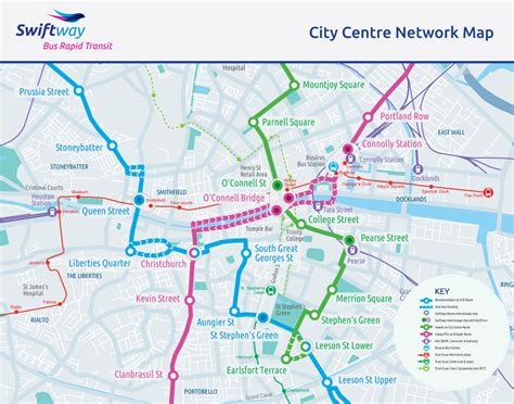 Swiftway Map   Bus Rapid Transit   Swiftway Routes
