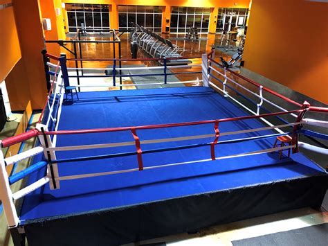 Competition Style Gym Boxing Ring - 24'