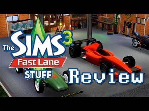 LGR - The Sims 3 Fast Lane Stuff Pack Review - YouTube