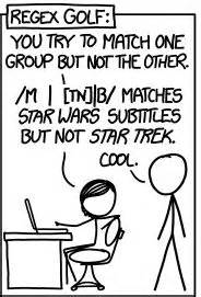 Regex Golf, XKCD And Peter Norvig