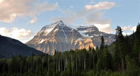 Mount Robson   Bergriese in British Columbia