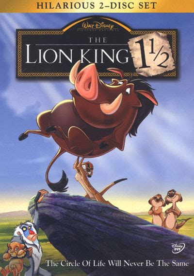 The Lion King 1½ (2004) Posters - TrailerAddict