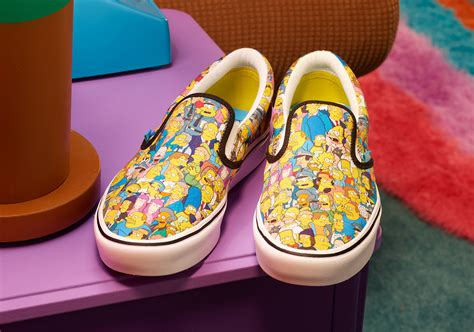 D'oh! You'll Want All of Vans' SIMPSONS Shoes and Merch