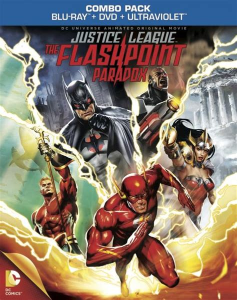 New DC Animated Movie – Justice League: The Flashpoint