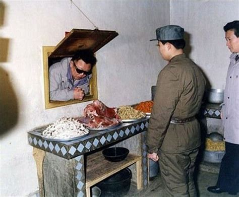 Kim Jong-Il Looking at Things - The Awesomer