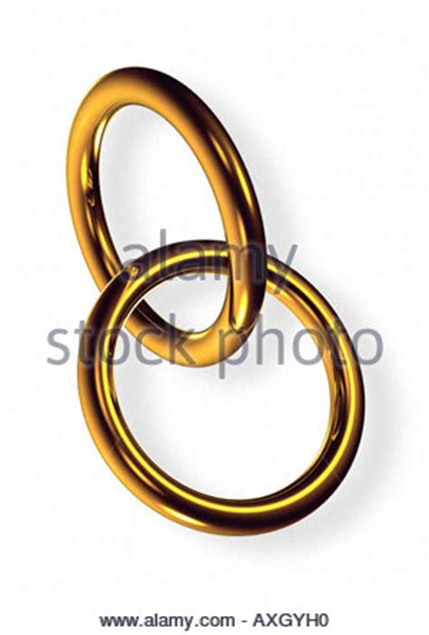 2 rings symbol for marriage fusion 2 Ringe ineinander