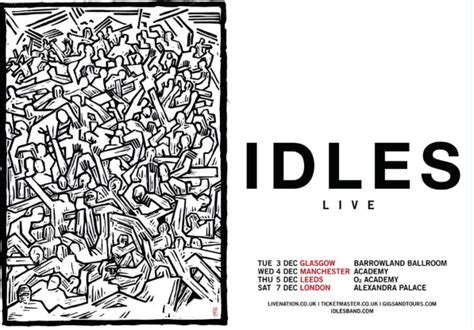 Idles Announce UK Tour Including Date At Ally Pally   Gigslutz