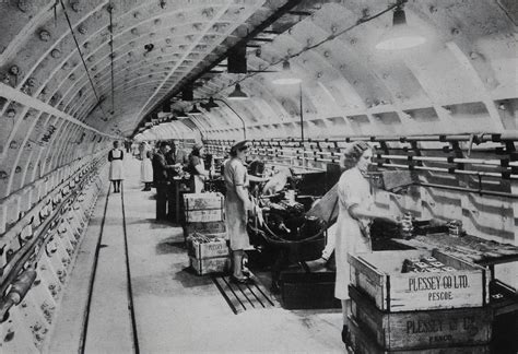 Women working in tunnel WW2   Our Catalogue Reference
