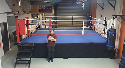Classic Boxing Ring 18'