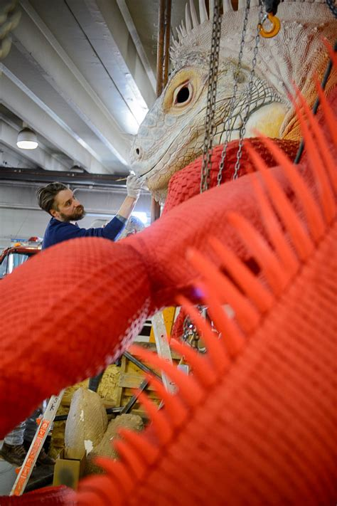'Is that alive?' Giant red iguana to invade Utah's most