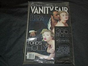 2006 MARCH VANITY FAIR MAGAZINE - TOM FORD FRONT COVER