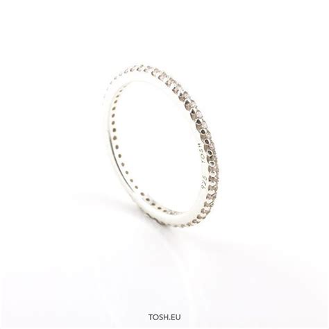 Shop Now! Silver 925 ring with zirconia stones - 22,95