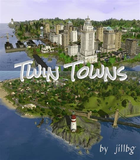 Twin Towns | The Sims 3 Catalog