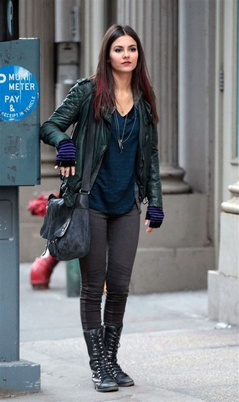 Victoria Justice - More Photos From The Set of EYE CANDY