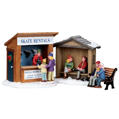 Lemax Skate Rentals - Table Accent - Set of 3 (03849