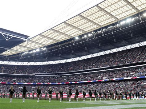 NFL confirms four London games in 2019 season   The
