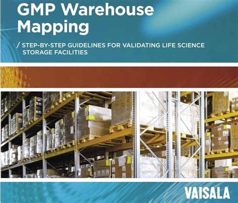 GMP Warehouse Mapping - Step-by-Step Guidelines for