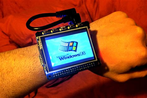 Check out Windows 98 running on a smart 'watch' powered by
