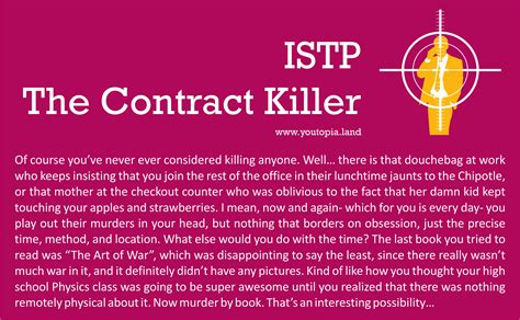 The Contract Killer – Youtopia Project