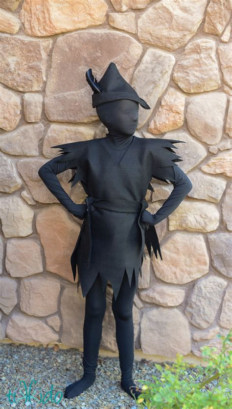 Peter Pan's Escaped Shadow Costume   Fun Family Crafts