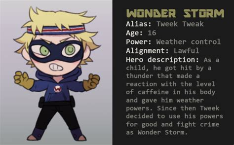it's my first day, South Park Superhero AU