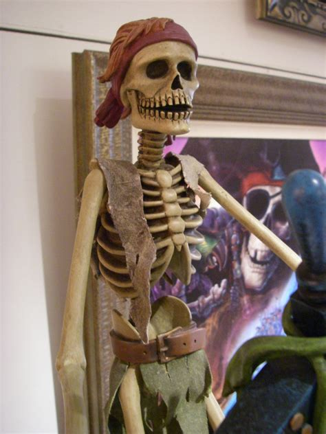 Pirates of the Caribbean Skeleton   Seen in the World of