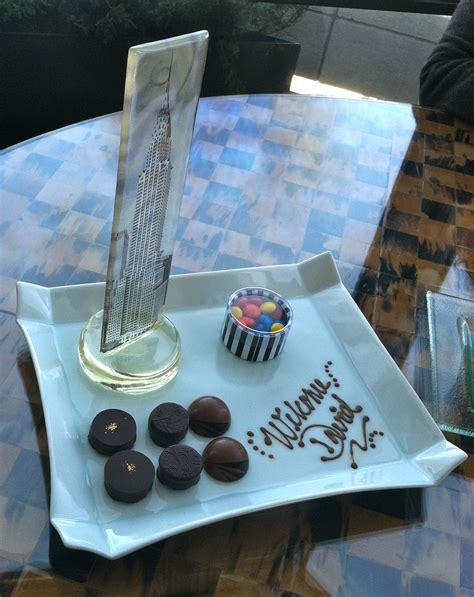 One young guest was greeted by this delicious amenity