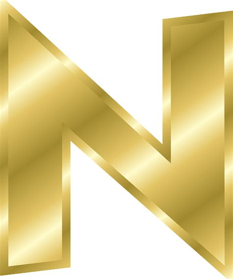 Letter N Capital · Free vector graphic on Pixabay