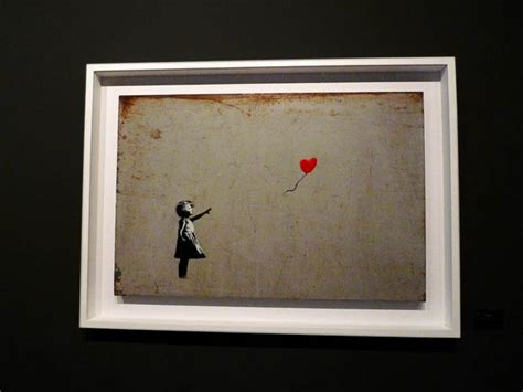 The Banksy Exhibition at Moco Amsterdam - journeytodesign