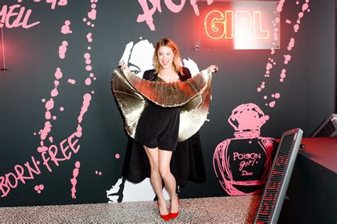 POISON GIRL PARTY AT LES BAINS PARIS FOR CHRISTIAN DIOR