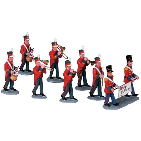Lemax Christmas Parade Marching Band - Table Accent Set of
