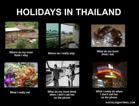 Holidays in Thailand | What People Think I Do / What I