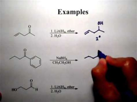 Reaction of Aldehydes and ketones - YouTube
