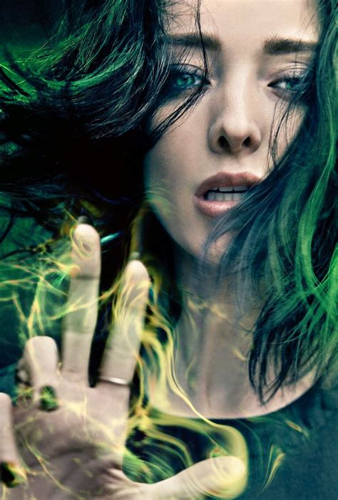 Marvel's The Gifted character posters featuring Polaris