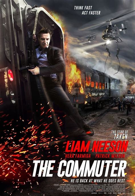The Commuter | Action movie poster, Movies online